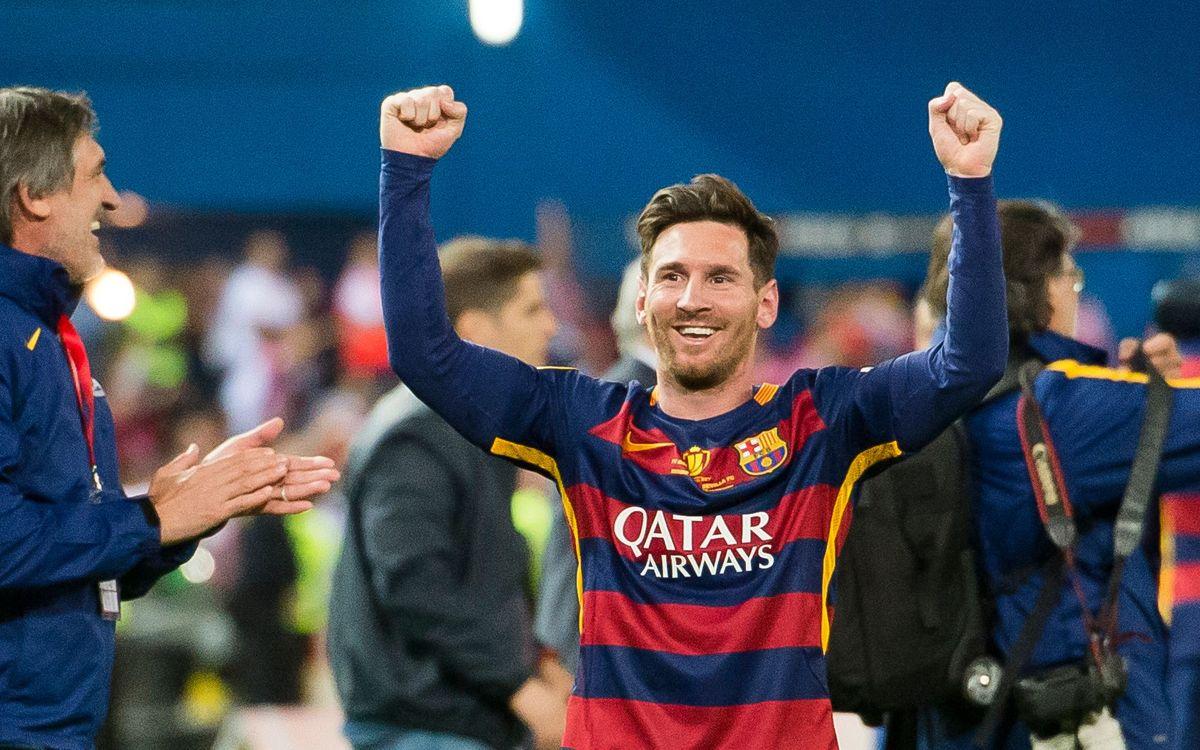 """Leo Messi: """"Barcelona m'ho ha donat tot"""""""