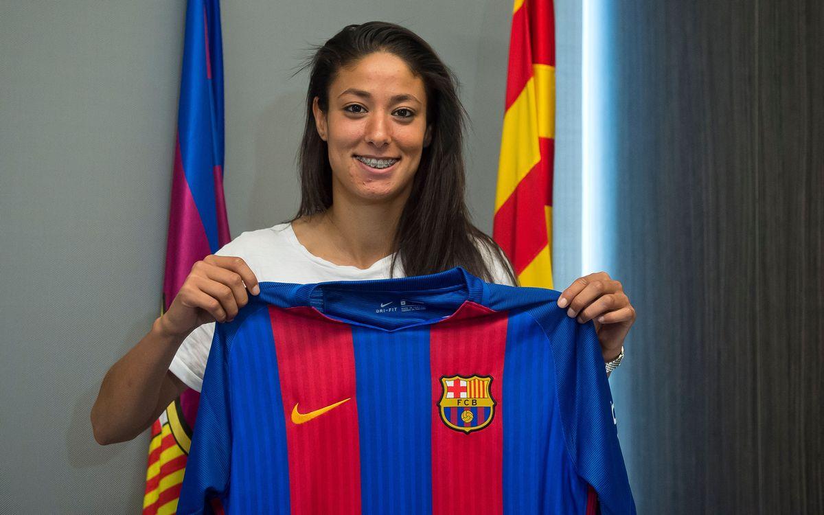 Leila Ouahabi torna al Barça Femení