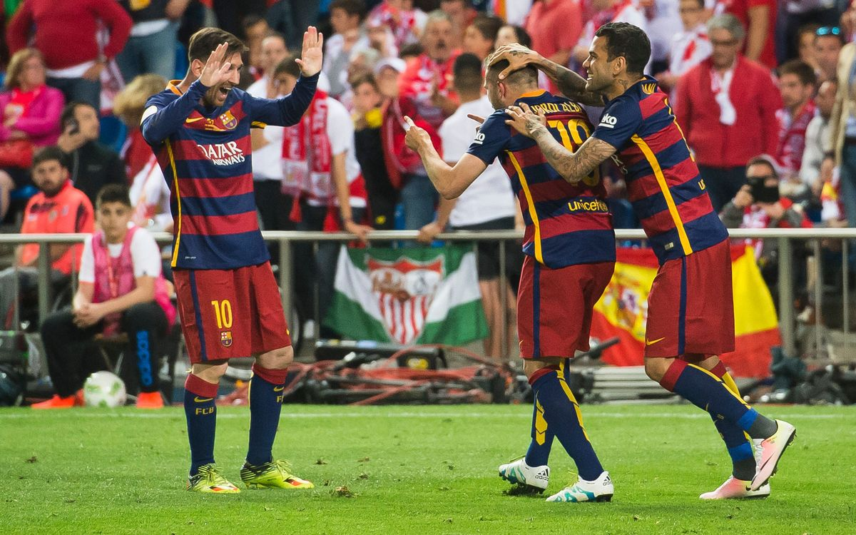 FC Barcelona v Sevilla FC: Double the pleasure! (2–0)