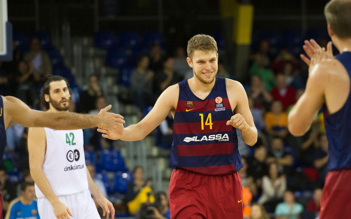 Vezenkov opta a ser el Millor Jove de l'ACB i a formar part del Millor Cinc inicial Jove