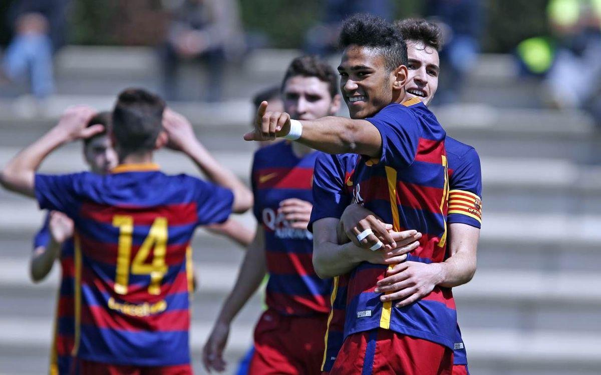 El Juvenil B s'apropa al liderat (1-0)