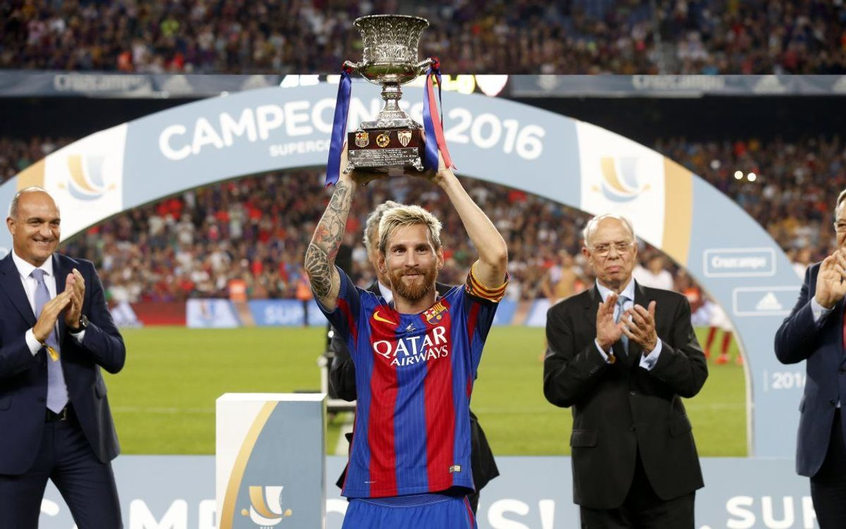 Leo Messi arriba als 100 gols amb Luis Enrique