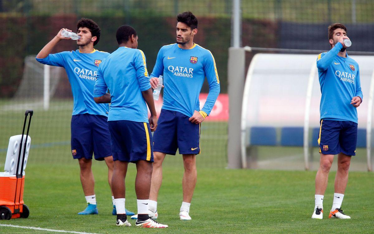 Comença l'última setmana de competició per al Barça B