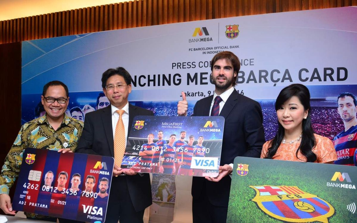 Bank Mega and FC Barcelona officially launched co-branded bank cards