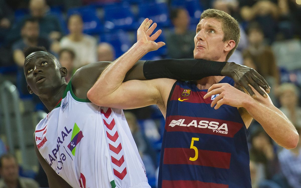 Barça Lassa to face Laboral Kutxa Baskonia in the ACB semifinals