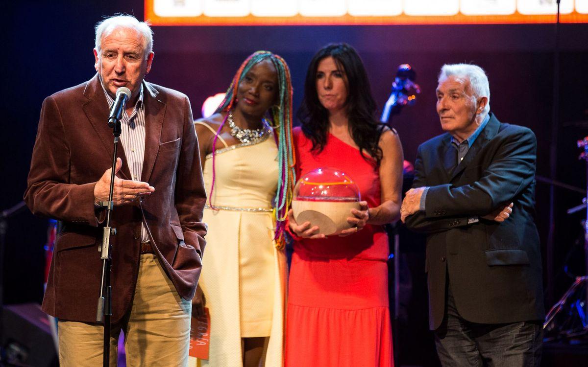 El Barça, guardonat amb el premi Alegría de Vivir