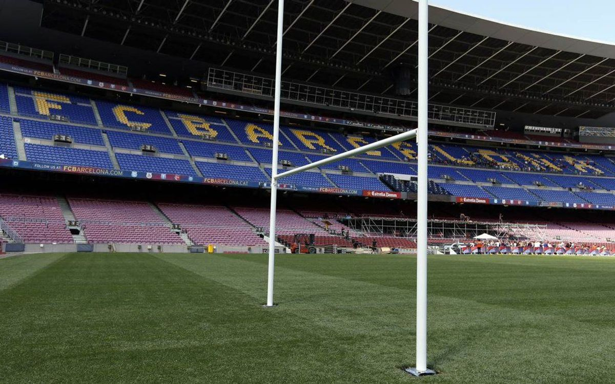 La finale du Top 14 Toulon-Racing, attendue au Camp Nou