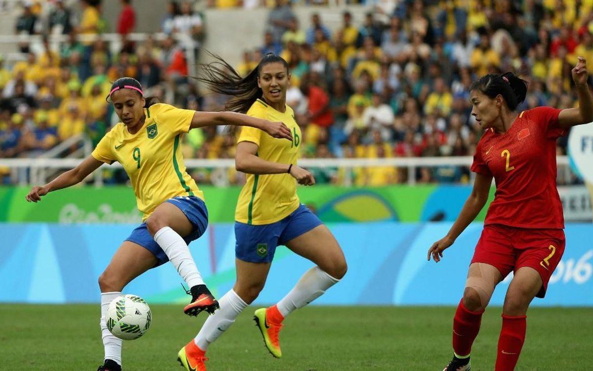 La Brasil de Andressa Alves se queda a las puertas del bronce