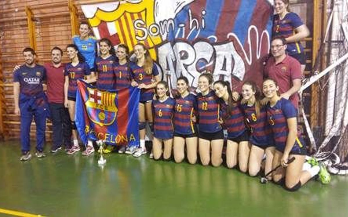 CVB Barça se proclama Campeón de Catalunya Cadete