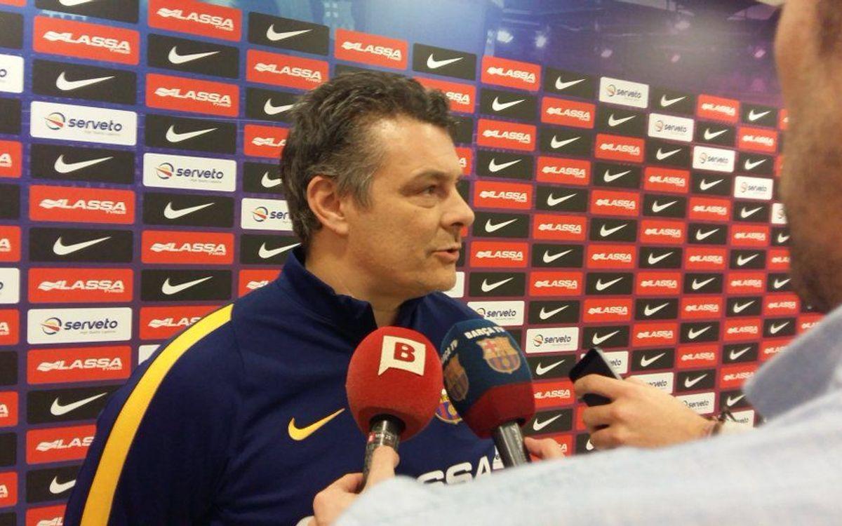 """Xavi Pascual: """"Sempre és un repte guanyar"""""""