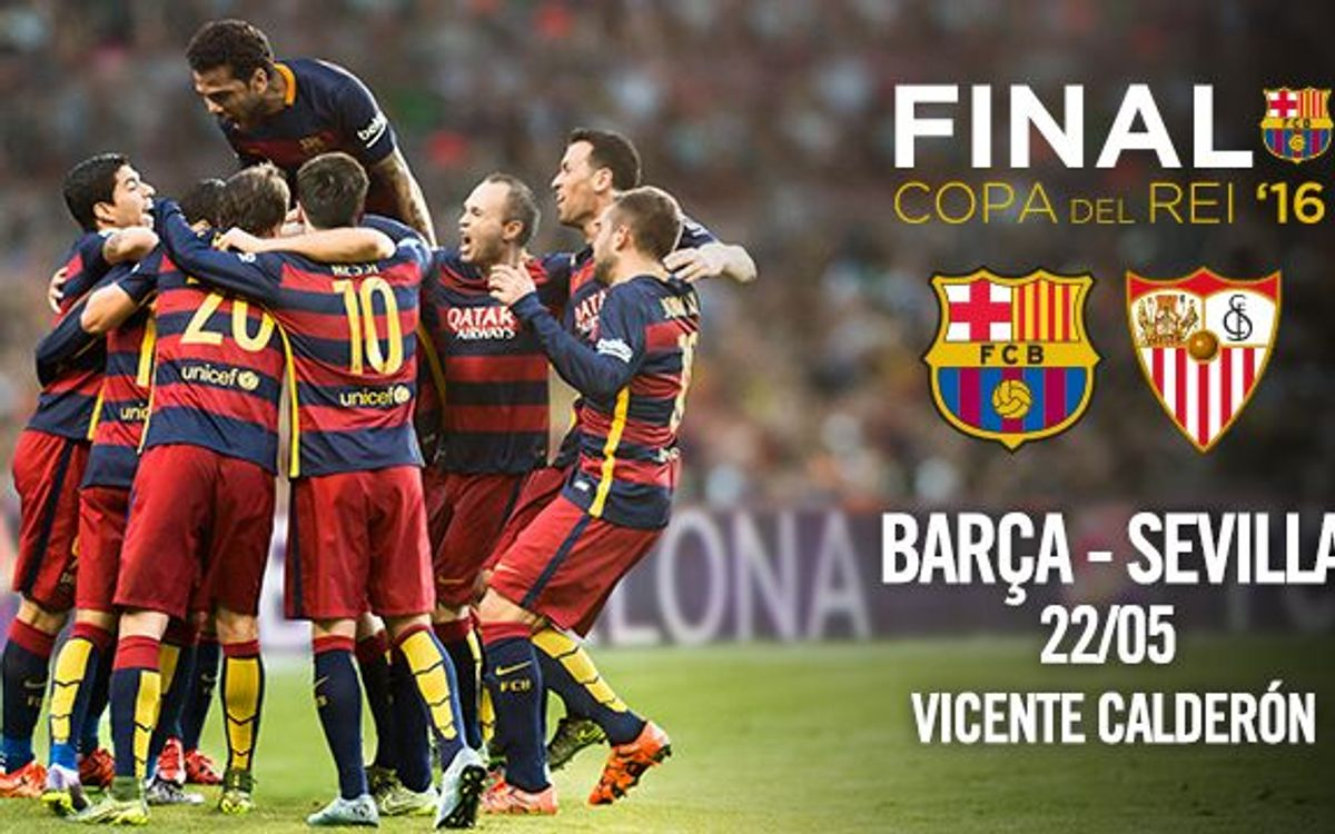 Ticket applications for Copa del Rey final to open on 11 April