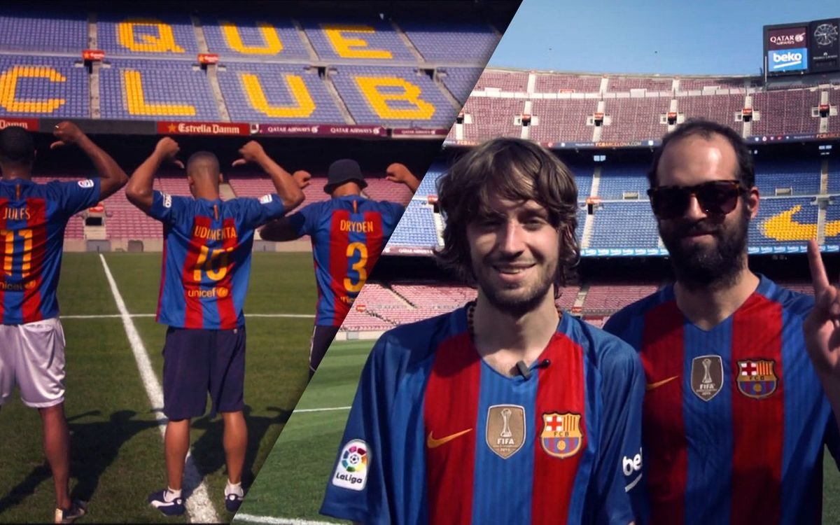 Crystal Fighters and Rudimental visit Camp Nou