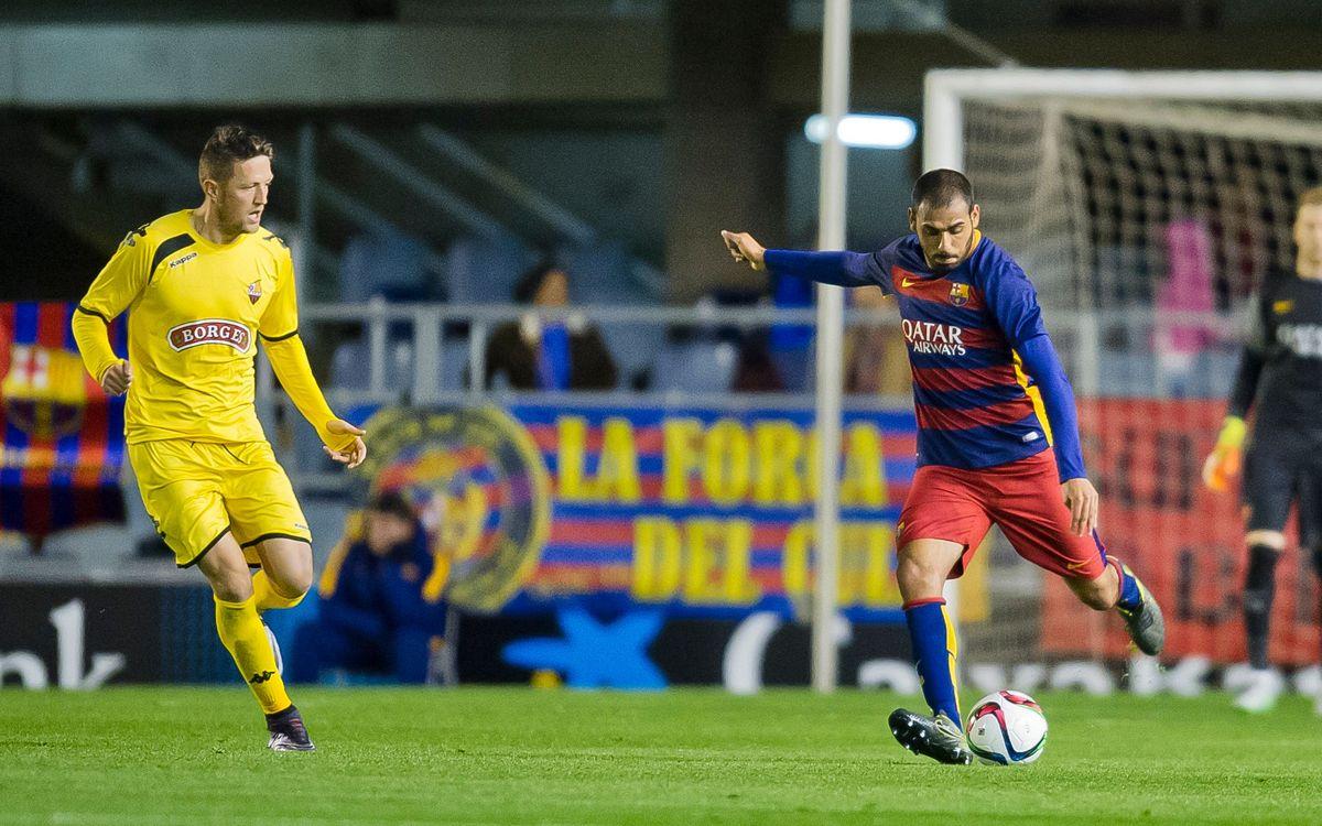 Acuerdo para renovar la cesión de Fali con el Barça B
