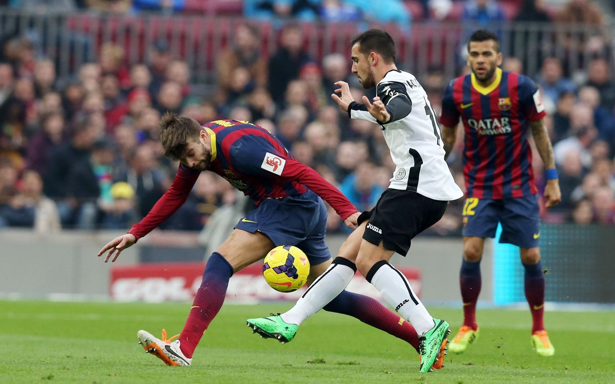 The day Alcácer conquered Camp Nou