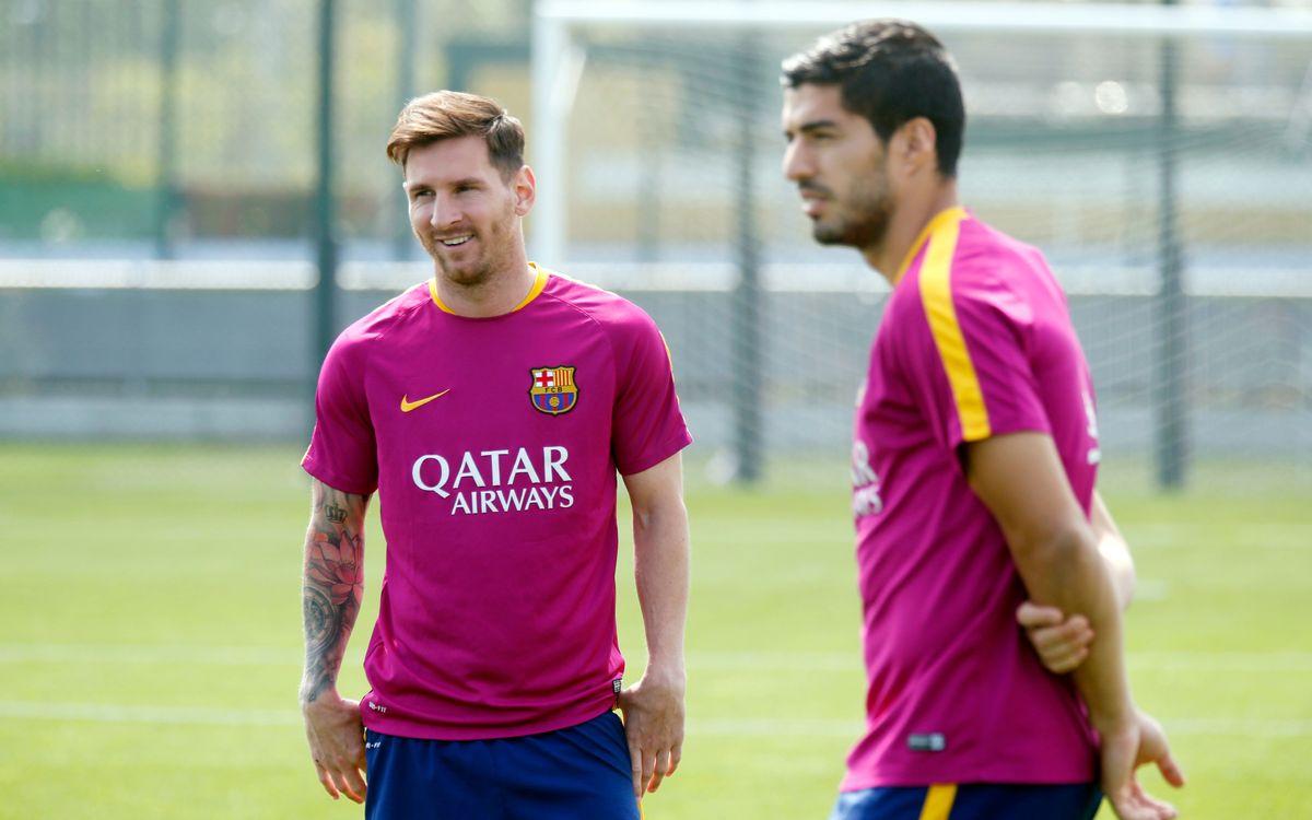 Messi adelanta la vuelta de las vacaciones y se incorporará al stage de St. George 's Park
