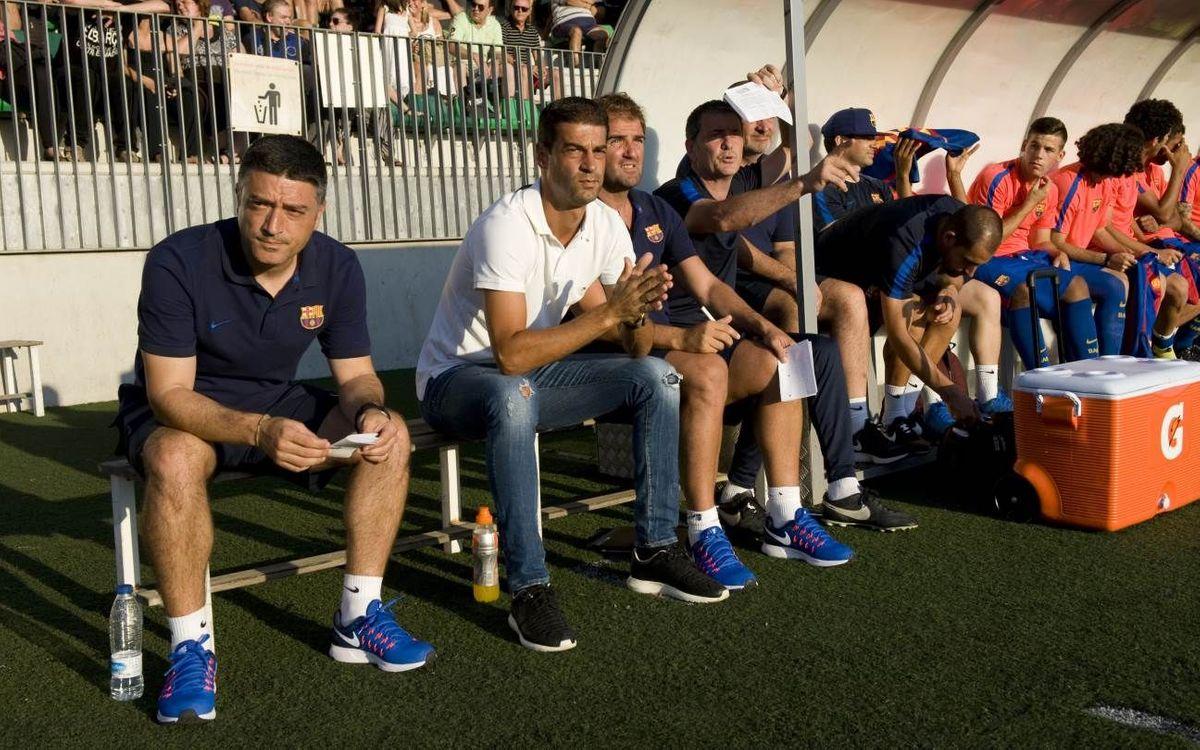 """Gerard López: """"Estic content pels gols de Mujica i Alfaro i perquè seguim sumant efectius"""""""