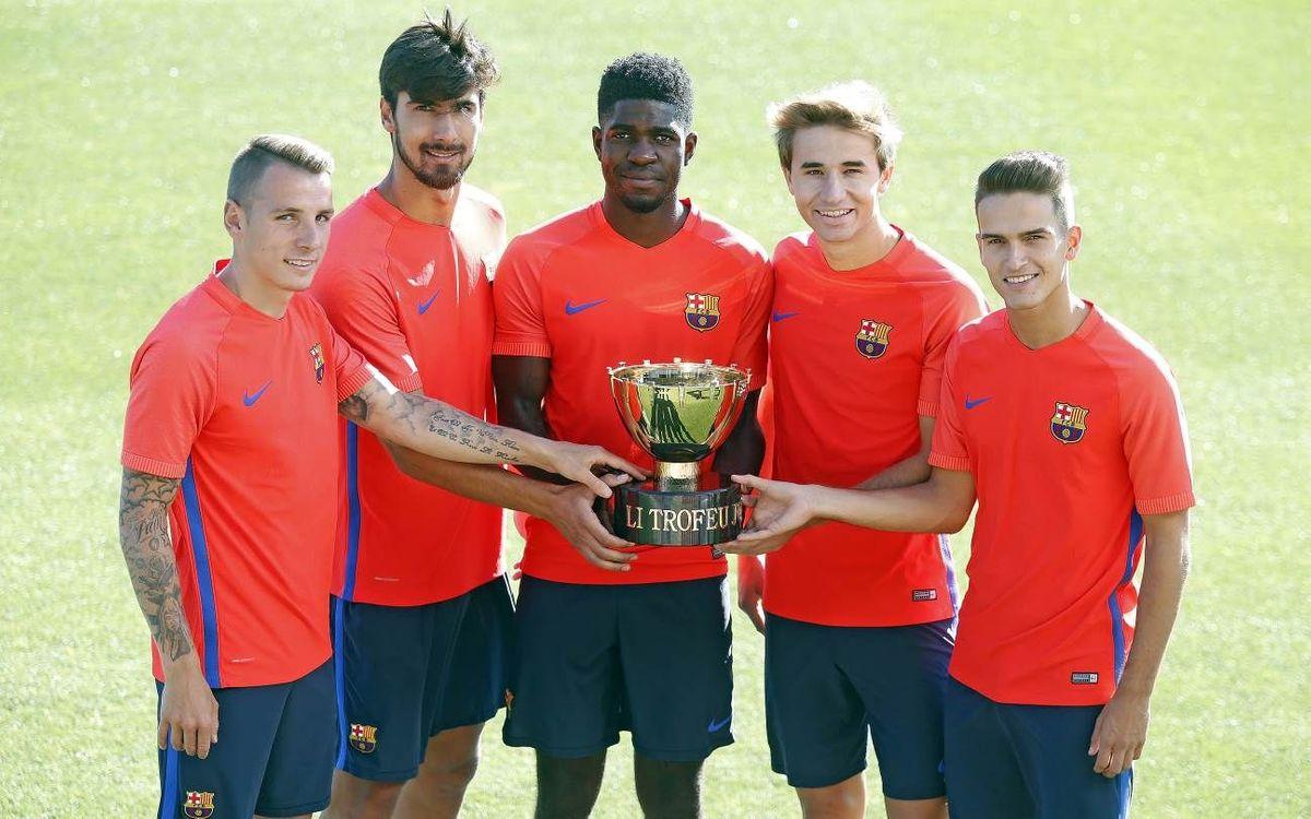 FC Barcelona – UC Sampdoria: La fiesta culé de las caras nuevas