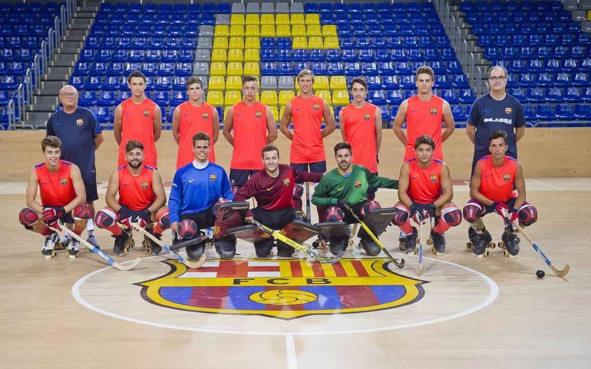 El Barça B jugarà els quarts de final de la Lliga Catalana al Palau Blaugrana