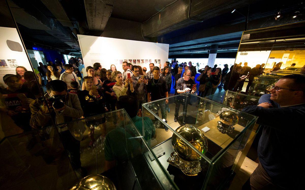 El Museu del Barça recibe 5.634 visitantes durante la 'Nit dels Museus'