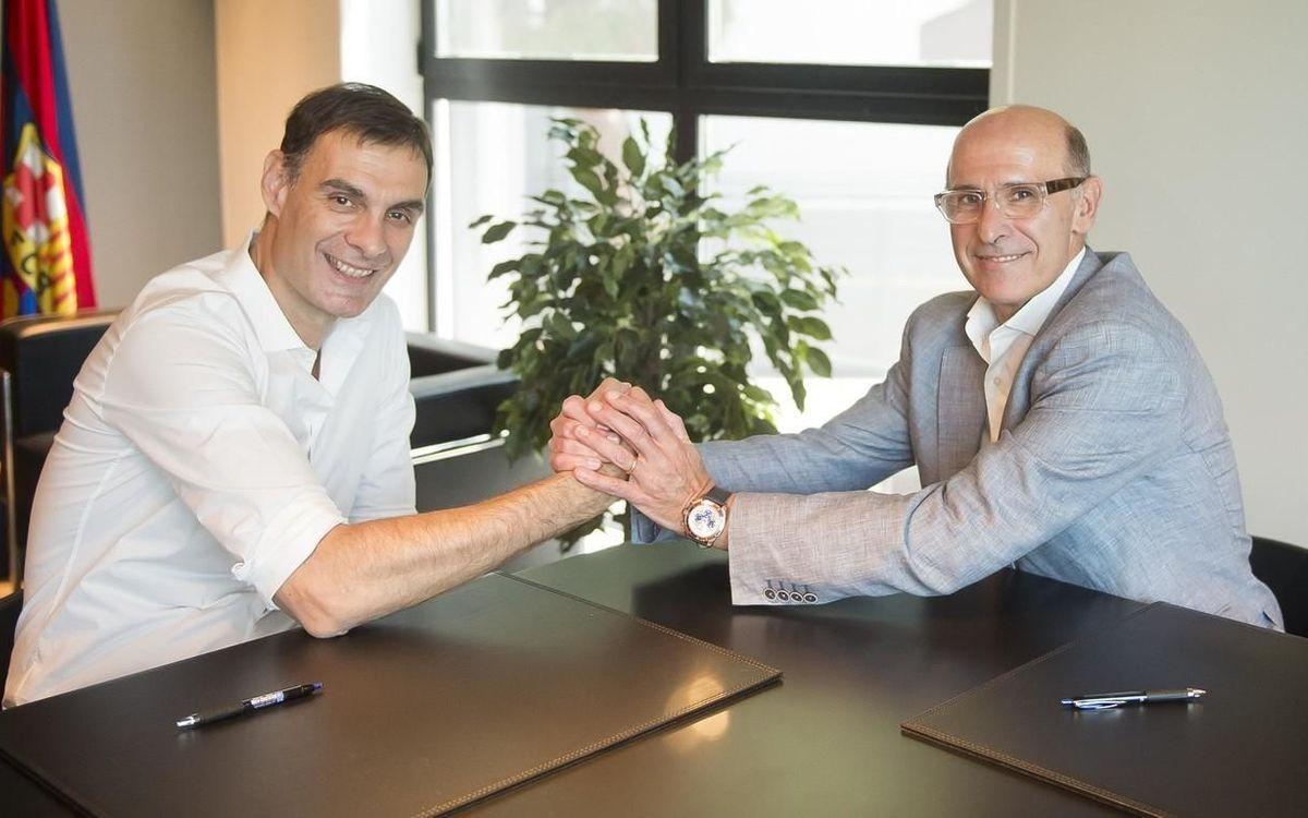 Bartzokas, nuevo entrenador del FC Barcelona Lassa de baloncesto
