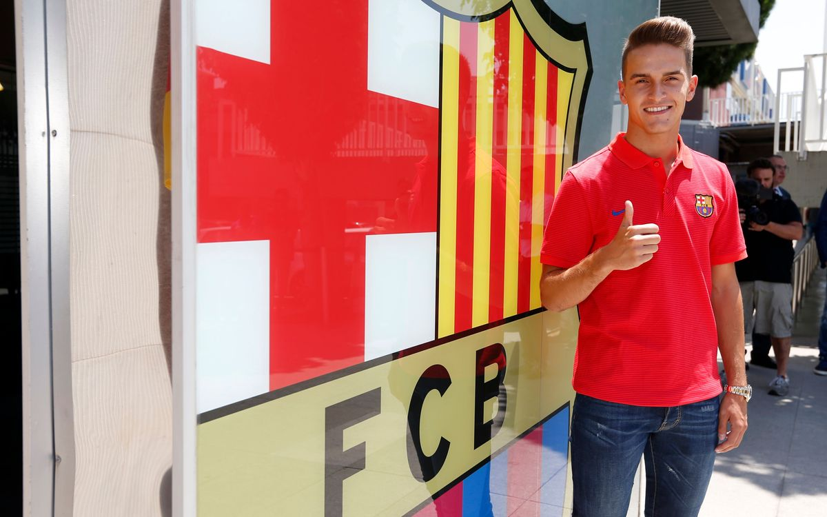 Denis Suárez glad to be back at FC Barcelona