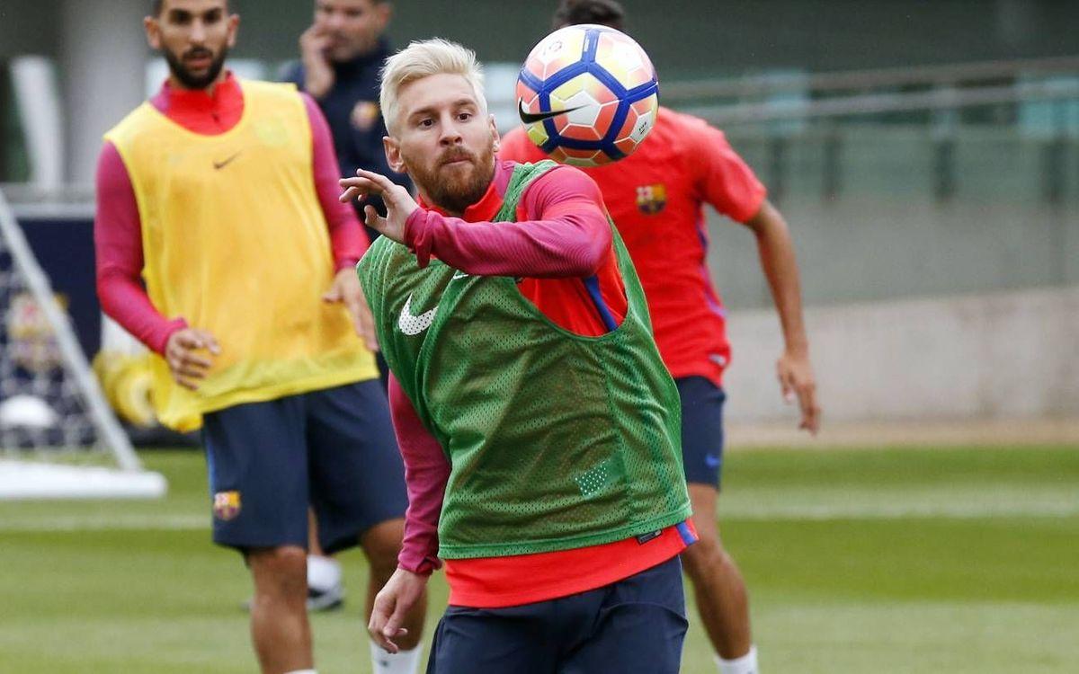 Un día en la oficina de Leo Messi