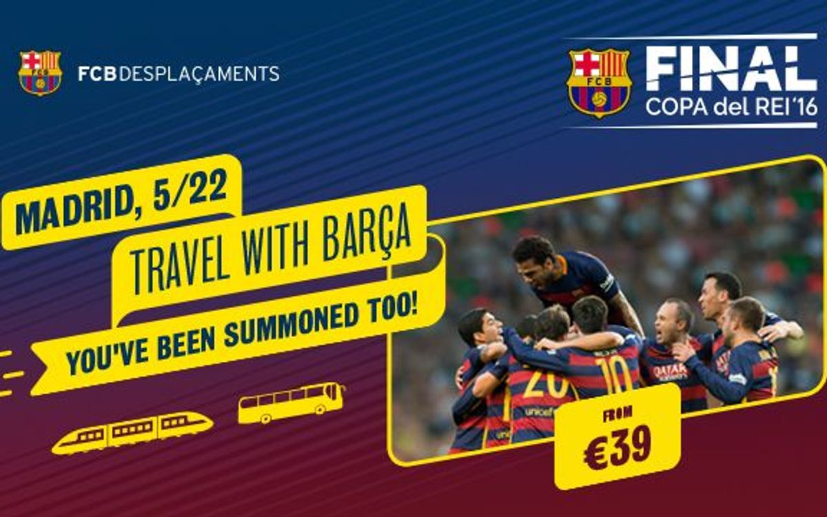 Copa del Rey Final travel options and services