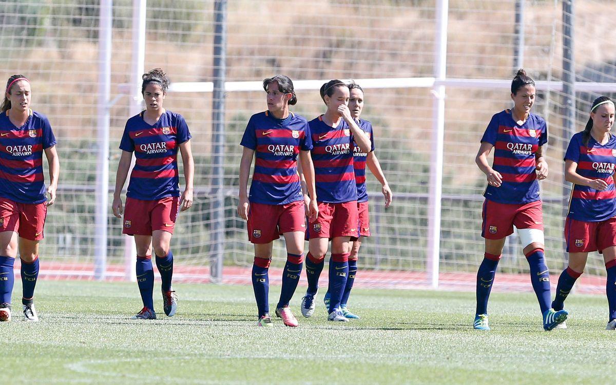 FC Barcelona Women v Atlético Women: Cruel final (3-2)