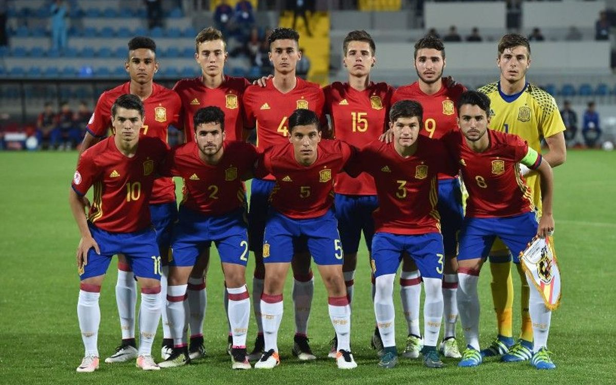 Cinco azulgranas, a la final del Europeo sub17