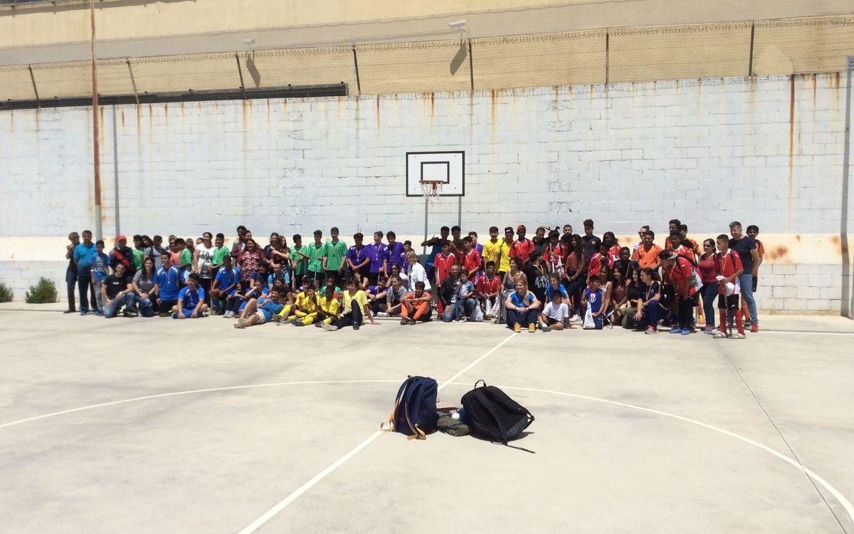 L'escola d'hoquei herba a l'Hospitalet celebra el final de la quarta edició de la Lliga