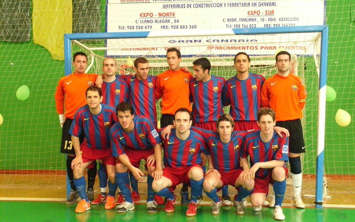 El primer título del FC Barcelona Lassa