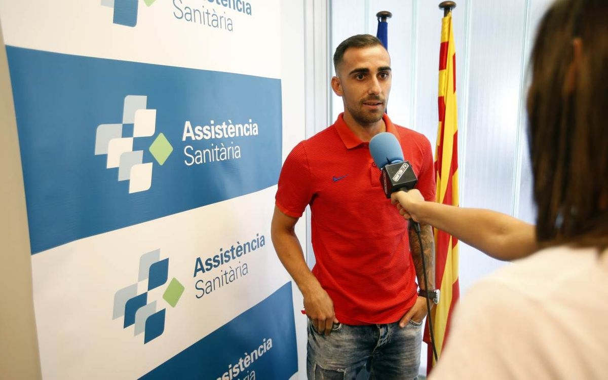 Paco Alcácer 'thrilled' to join FC Barcelona