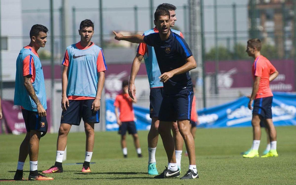 El Barça B comienza la segunda semana de entrenamientos