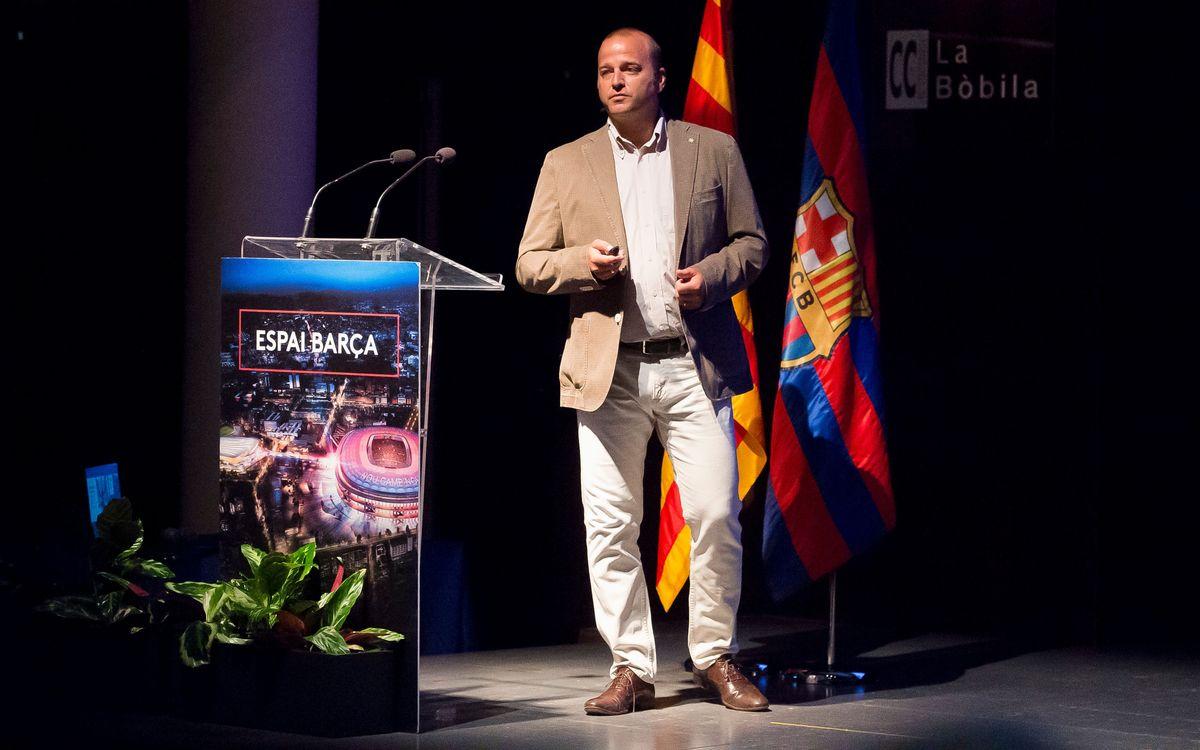 L'Hospitalet de Llobregat, desena ciutat que acull l'exposició de l'Espai Barça