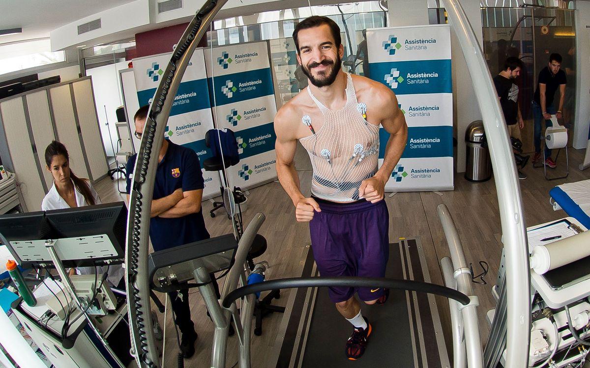 El Barça Lassa 2016/17 s'estrena amb les revisions mèdiques