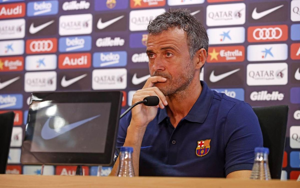 LIVE: Press conference with Luis Enrique