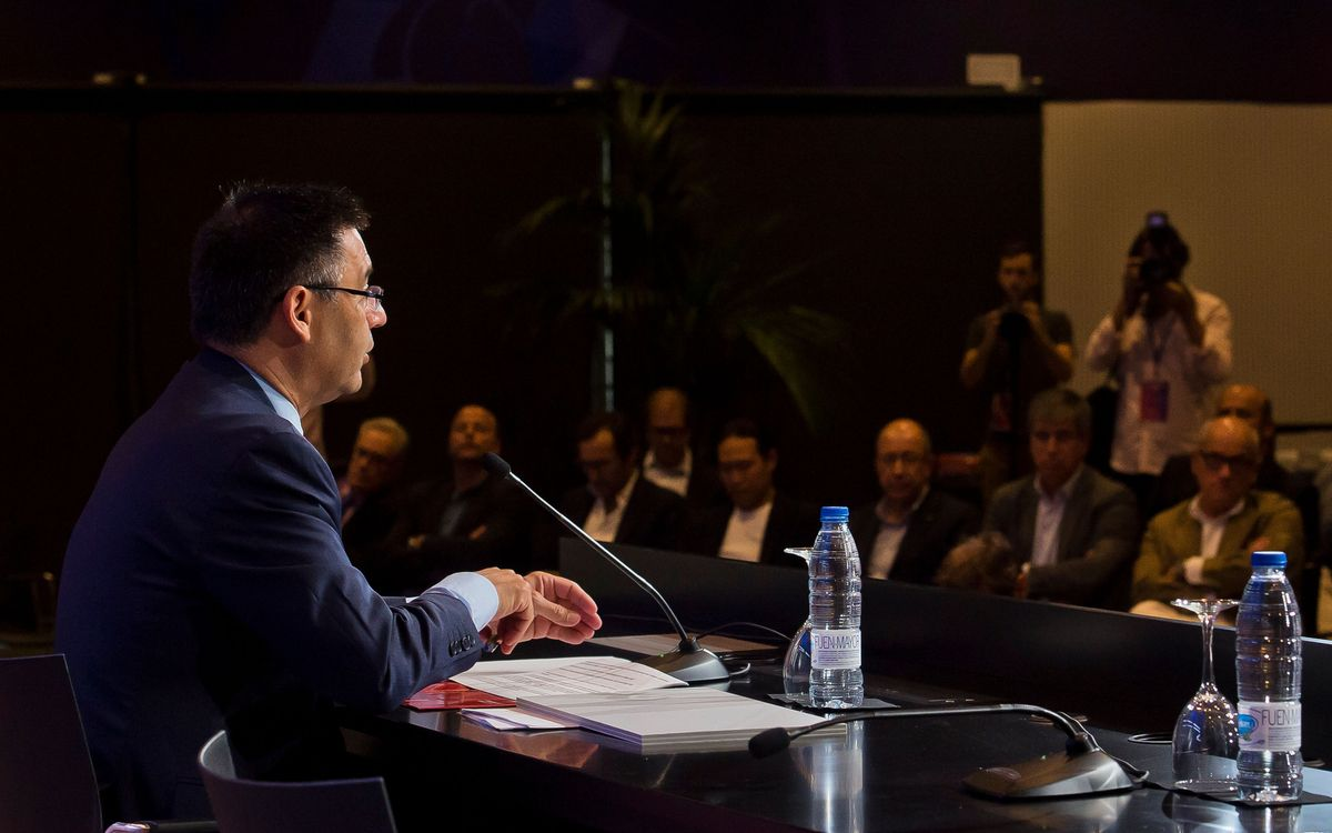 The key points from Bartomeu's press conference