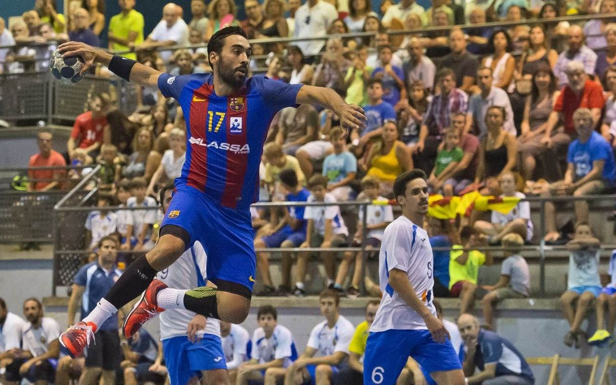 CH Sant Esteve Sesrovires – FC Barcelona Lassa: Debut oficial victorioso (19-41)