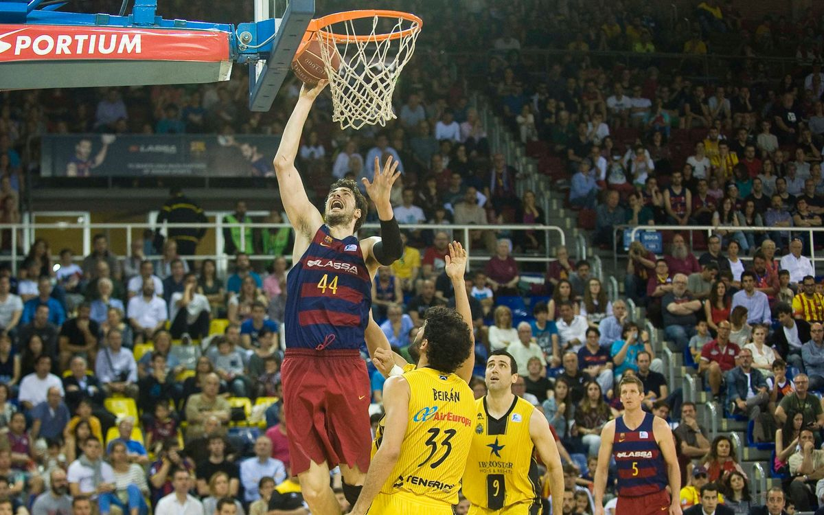 FC Barcelona Lassa v Iberostar Tenerife: Top spot secured ahead of play-offs (93-58)
