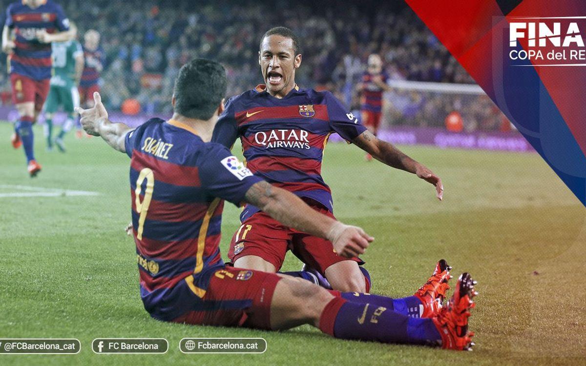 Copa del Rey Final: FC Barcelona v Sevilla FC