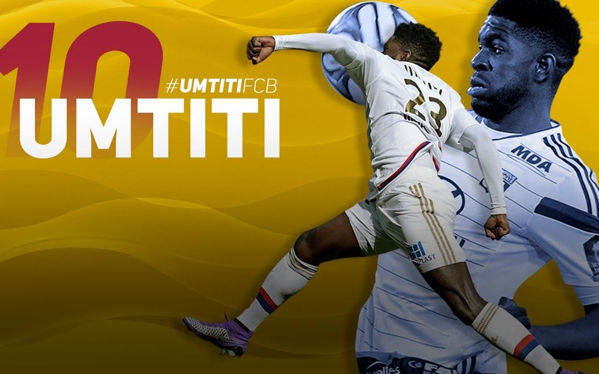 10 essential facts about new FC Barcelona signing Samuel Umtiti