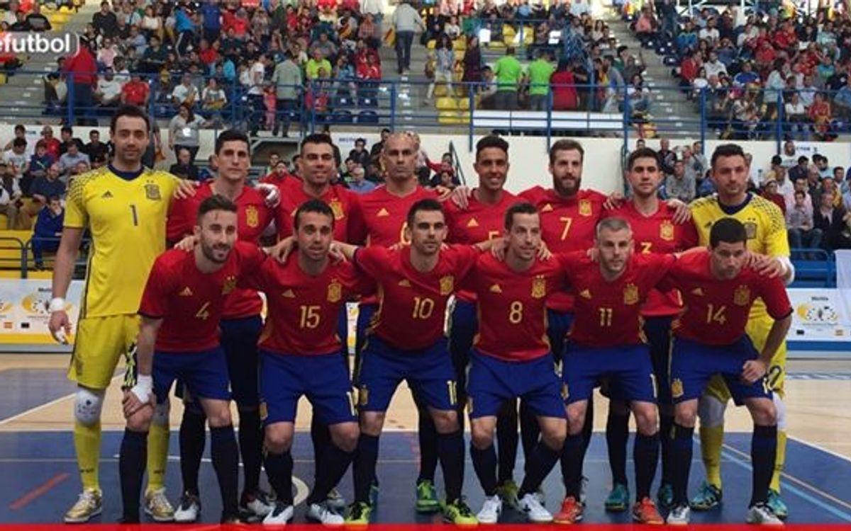 España se clasifica para el Mundial de Colombia