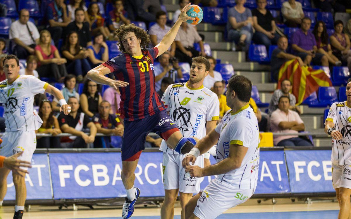 Còrdova, el Barça d'handbol i el Palau Blaugrana