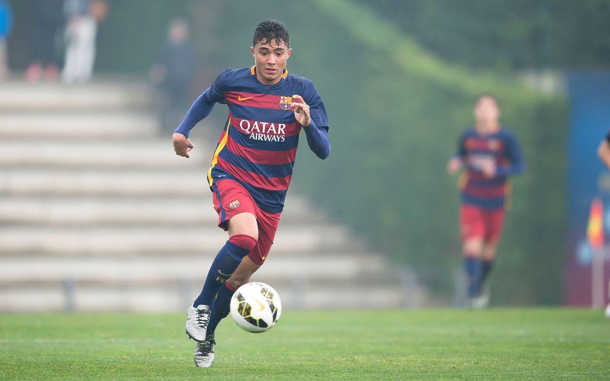 Werick Maciel convocat amb la selecció sub-18 del Brasil