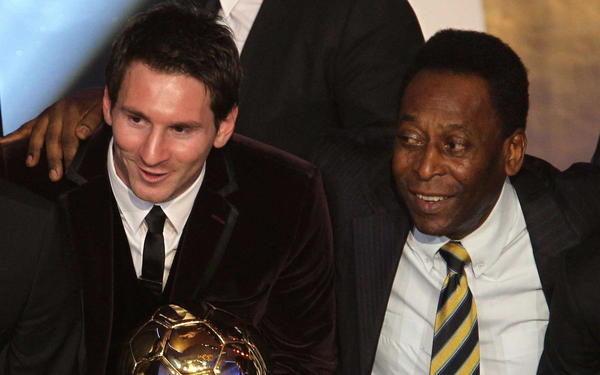 Pelé: 'If I could choose today, I'd play for FC Barcelona'
