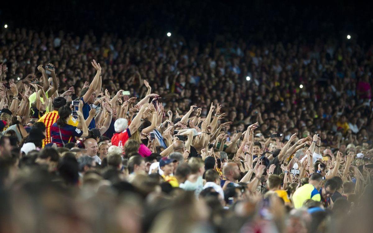 Recordatori: el partit de la Supercopa no entra a l'abonament