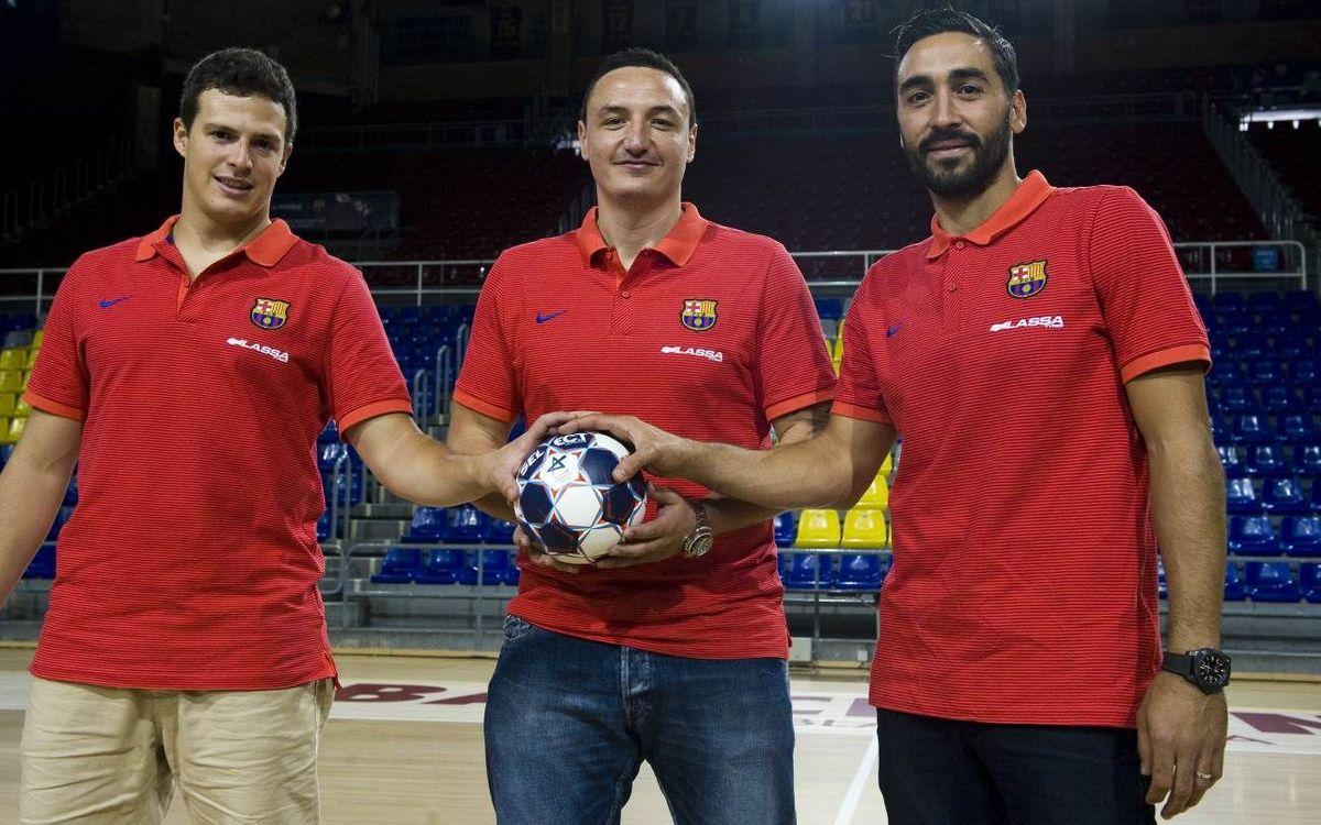 El Barça Lassa presenta tres dels seus reforços