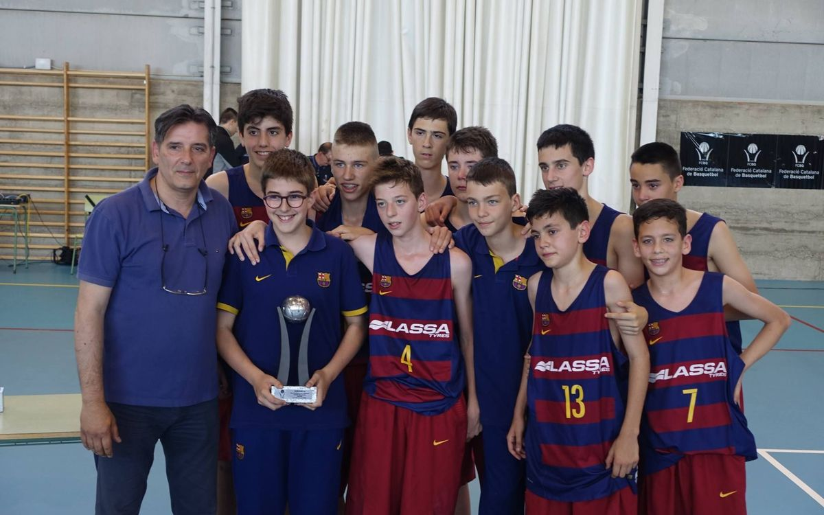 El Infantil B, subcampeón de Catalunya