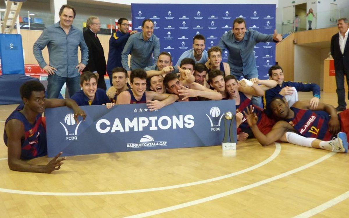 El junior del Barça Lassa, campeón de Catalunya!