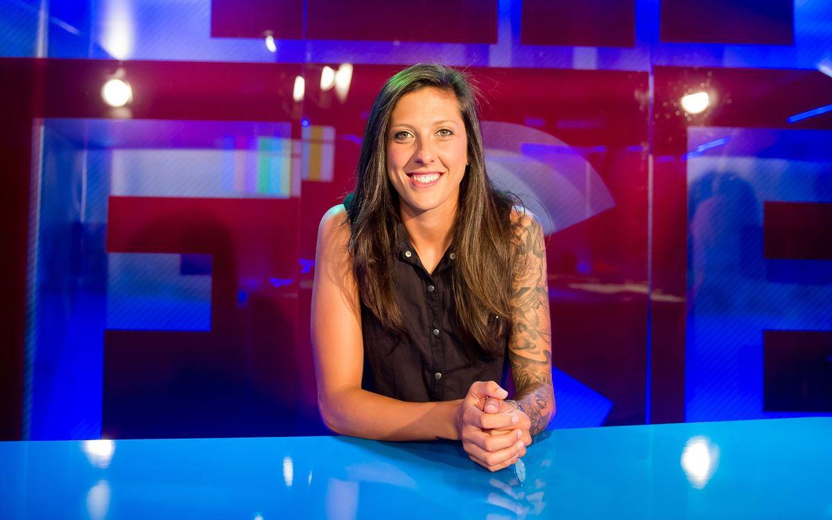 """Jenni Hermoso: """"La Copa de la Reina ha de ser nostra"""""""